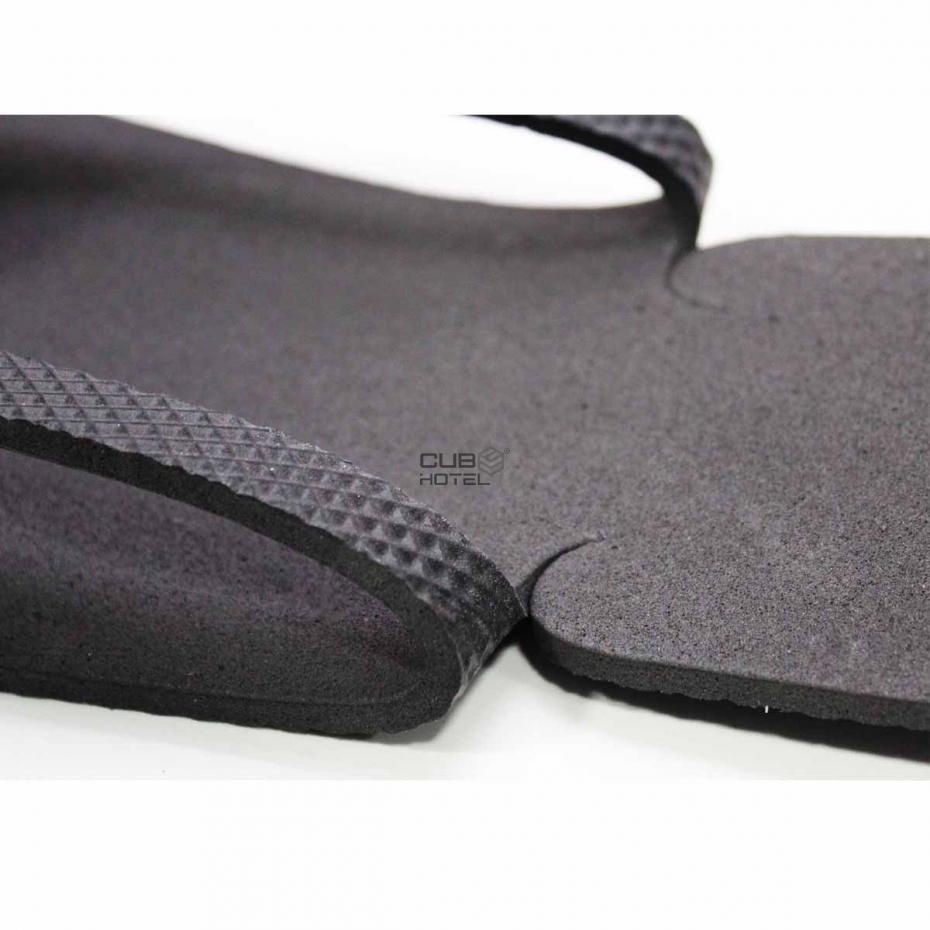 200 Pares, Chinelo Hotel easy preto, 29 cm